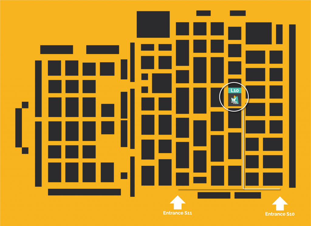 Floorplan Excel London LAC 2017